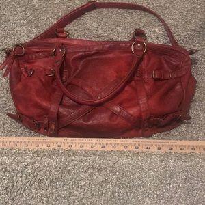 Big Buddha HUGE red purse